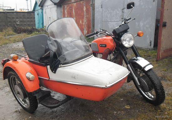 """Мотоцикл с коляской """"ИЖ Юпитер-4"""". 1981 г.в. ПРЕДЛАГАЙТЕ СВОЮ ЦЕНУ."""