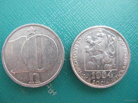 Чехословакия   10 геллер   1984