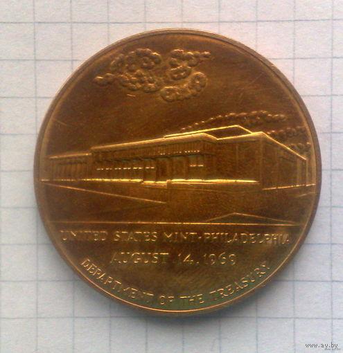 Филадельфия -Монетный двор- 1969г.