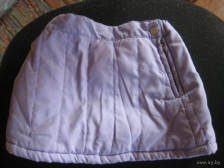 Немецкая фиолетовая юбочка-байка от 5м до 1 года
