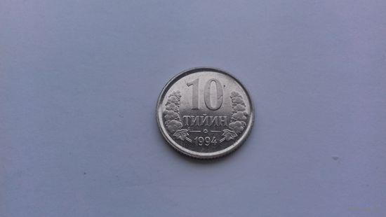 10 тийин 1994 года. Узбекистан