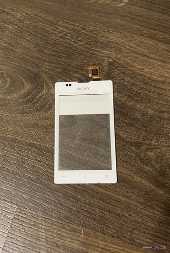 Sony C1505, C1605 Сенсорный экран, White, original (PN:A/336-0000-00115)