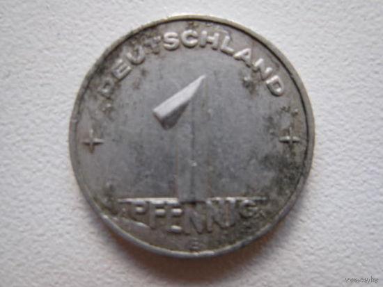 1 пфенниг 1952 E (ГДР)