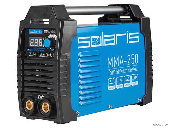 Инвертор сварочный SOLARIS MMA-250 (230В, 20-250 А, электроды диам. 1.6-5.0 мм, вес 5.0 кг)