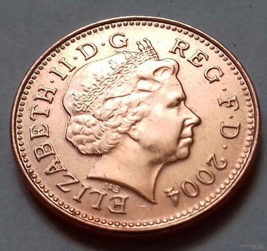 1 пенни, Великобритания 2004 г., UNC