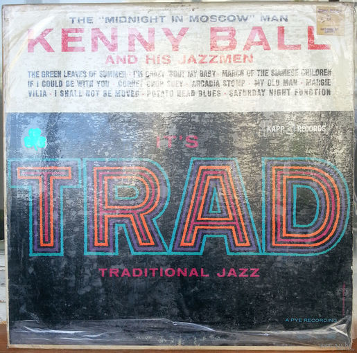 LP Kenny BALL and his JAZZmen - IT's TRAD