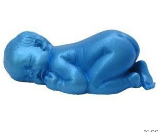 Ребенок, младенец 3D. Силиконовая форма, молд. Для отливки свечей, торта, мыла, гипса, льда