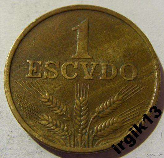 1 эскудо 1970 год Португалия