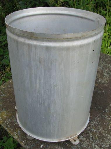 Бак алюминиевый, ёмкость 20 л (диаметр 28 см высота 38 см)