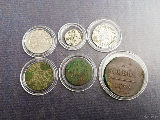 Набор нечастых монет