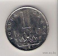 Чехия, 1 koruna, 1996г