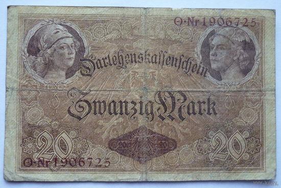 Германия. 20 марок 1914г.