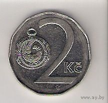 Чехия, 2 koruna, 1995г