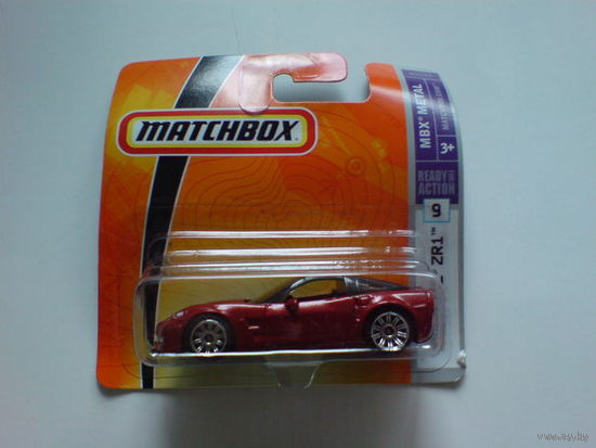 MB749  Chevy  Corvette  ZR1  вишнёвый. распродажа