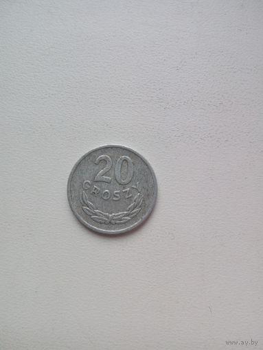 20 злотых 1976г. Польша.