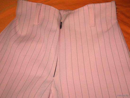 Польские розовые брюки на девочку 140 рост