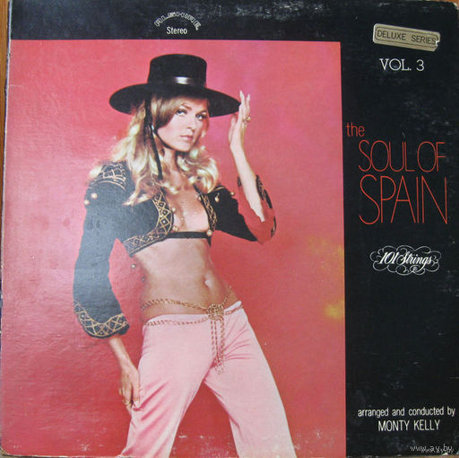 LP 101 Strings - The Soul Of Spain Volume 3 (1970)