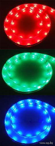 Светодиодная лента 1M 60 LED 3528 SMD  цвет: синий, красный, зелёный!