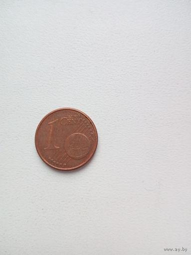 1 евроцент 2004г.(G) Германия