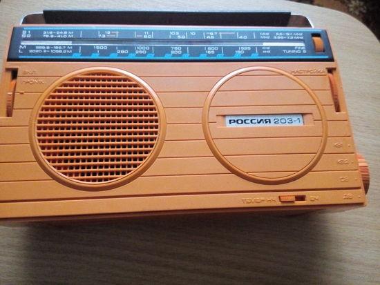 Радиоприёмник Россия 203-1