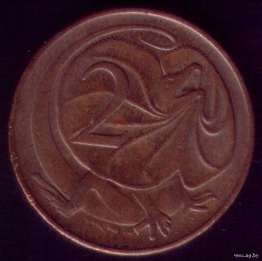 2 цента 1978 год Австралия