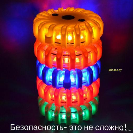 Сигнальный фонарь- аварийка- спецсигнал- красный мигающий фонарь