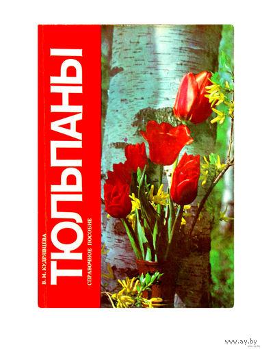 В.М.Кудрявцева. Тюльпаны.