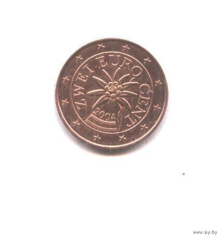 Австрия 1 евро цент 2004 г. распродажа