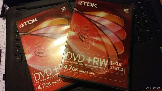 TDK DVD+RW, ЧИСТЫЕ