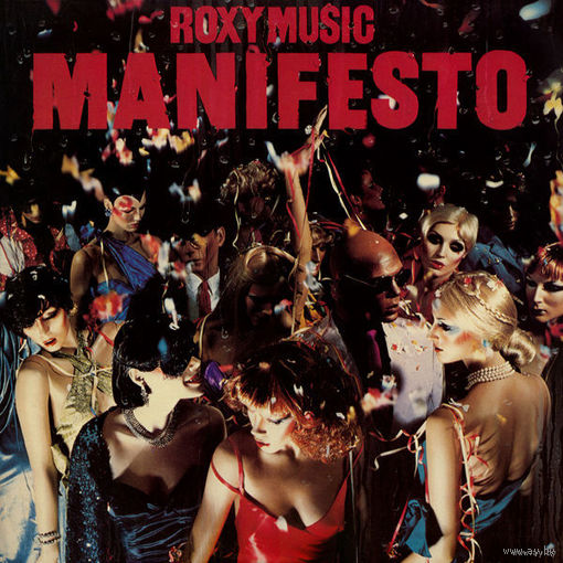 Roxy Music - Manifesto - LP - 1979