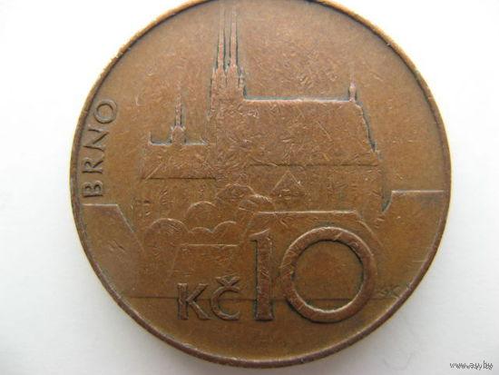 Чехия 10 крон 1993 г.