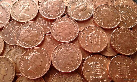 Великобритания. 20 монет - одним лотом.