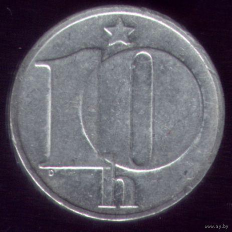 10 геллеров 1976 год ЧССР