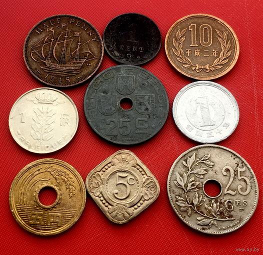 9 монет без повторов #9-104