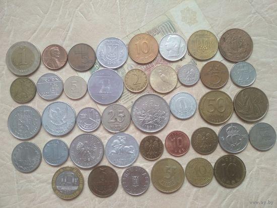 Сборный набор из 40 шт (разные года) +бон,  СБ8