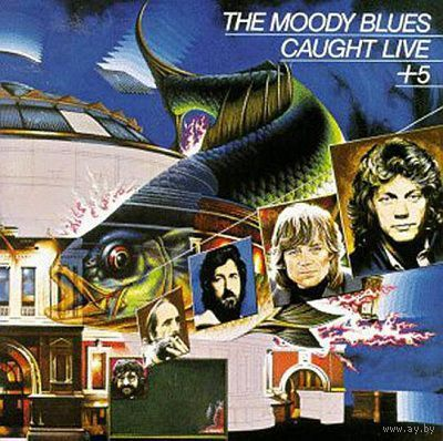 2LP The Moody Blues  - Caught Live +5 (1977)