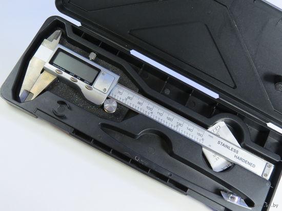 Штангенциркуль микрометр цифровой 150мм, Металл