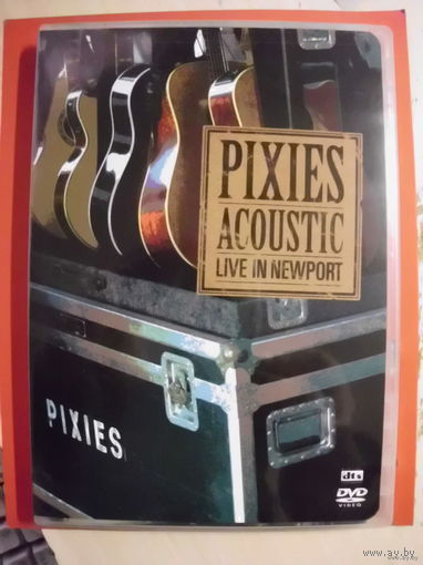 "Original DVD!!! Pixies""Acoustic.Live in Newport"" 2006"