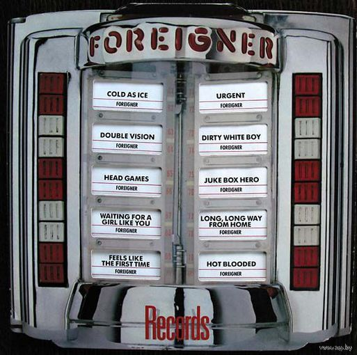 "Foreigner ""Records"" LP, 1982"