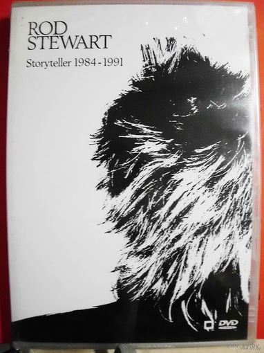 "Original DVD!!! Rod Stewart ""Storyteller 1984-1991"" 1991"