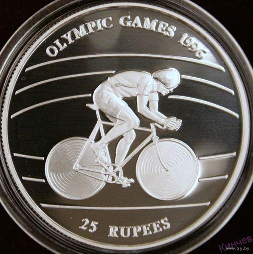 25 рупий 1995 год, Сейшелы Олимпиада, Велоспорт