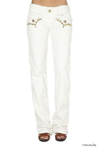 Новые брюки известного итальянского бренда PHARD, модель Kalyssa Bianco