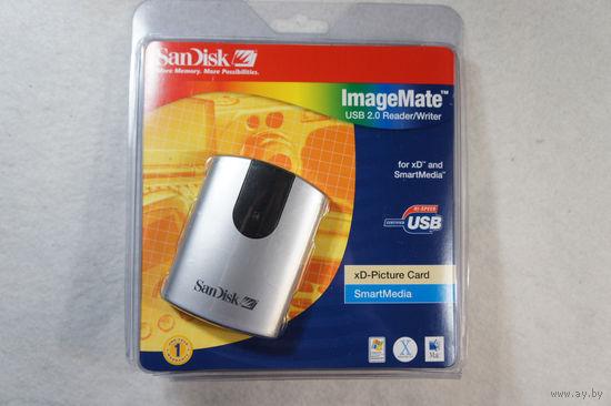 ImageMate USB 2.0 Rider/Writer for xD and SmartMedia (картридер, подключается к компьютеру по USB).