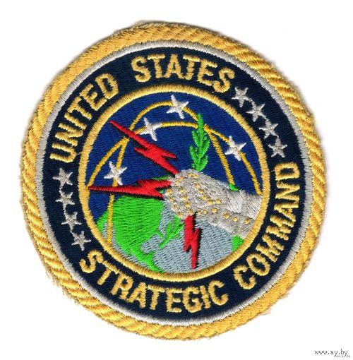 """Нашивка """"United States - Strategic Command"""" США"""