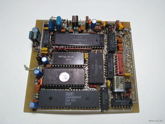 Плата с Z80