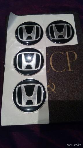 Наклейки на колпаки Хонда