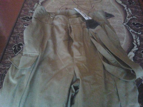 Штаны военные утепленные (песочные) размер 50/2