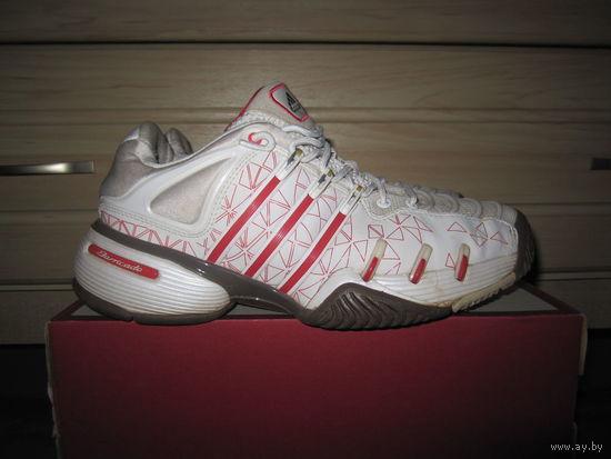 Кроссовки теннисные унисекс Adidas barricade, р.38 (б/у)