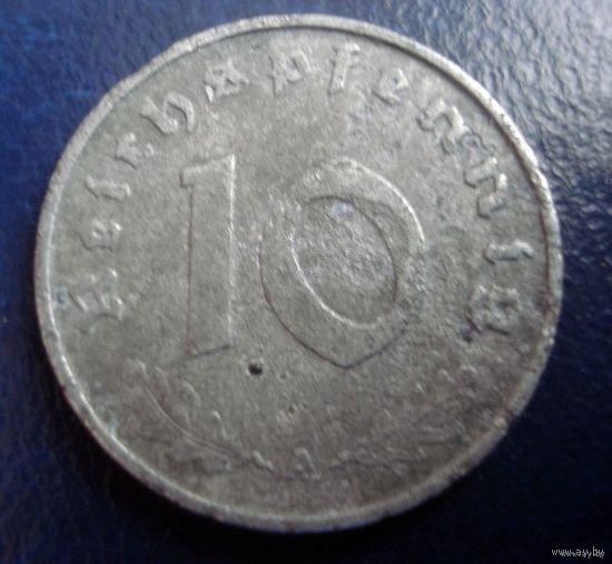 10 пфенингов 1943 (А) - 2