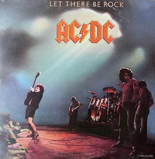 0504. AC/DC. Let there be Rock. 1977. Atlantic (DE) = 20$